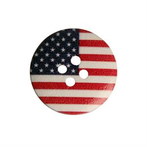 Knap med USA Stars and Stripes